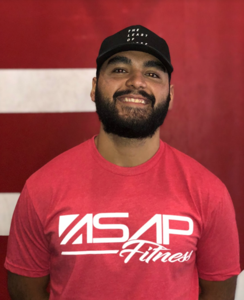 Dorian Medina - Head coach at Sacramento ASAP Fitness